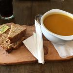 Vegetable Soup and Homemade Wheaten