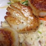 Our famous Pan Seared Scallops