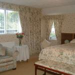 Loyal spacious super king bed room with en-suite spa bath, shower cubicle , wc and basin.