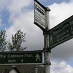 Walk The Cateran Trail from Alyth and have yourself transported to and from each stop.