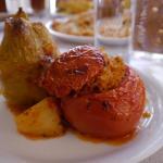 rice stuffed tomato mmm