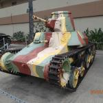 WW2 Japanese light tank