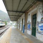 Pinhao train station murals (wine tour)
