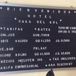 hotel pricing in reception