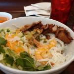 Lemongrass pork with Noodles