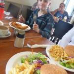 Look, Joel, 2015 Youth Ambassador for Cystic Fibrosis WA eats here!
