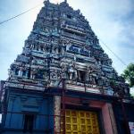 Hindu temple by the hotel