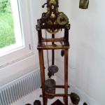 One of the clocks