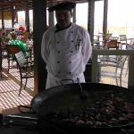 Hotel Head Chef at the Beach reasturant