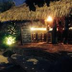 our bar at night