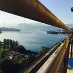 Zi 501, Blick vom Balkon auf den See
