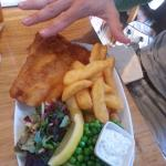 Massive fish and chips