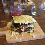 Raw Food Main Meal Mushroom Lasagne