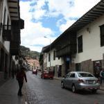 Vista de Catalina Ancha al 300 (Calle del hostel)