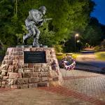 Winters Leadership Memorial at Veterans' Plaza