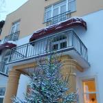 Отель в Рождество