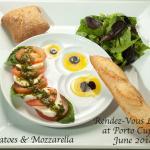 Classic Tomato Mozzarella salad