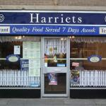 The front of Harriets