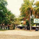 El Valero from the beach.