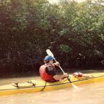 kayaking along the key