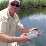 "20"" Big Lake Springs Rainbow caught on nymphs"