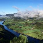 Morning has broken on the fjord in Kvinesdal