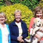 Leonie, Jill and Paulette with Dyson