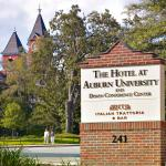 The Hotel at Auburn University is located on the Campus of Auburn University