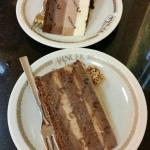 Nugat torta i tri cokolade