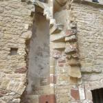 Remains of The Abbot's Spiral Staircase To His Private Chambers