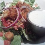 Side Salad that came with the Steak Dinner - YUM