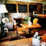 Beautiful eclectic interior. Original 50's, 60's & 70's Rockabilly and Danish furniture. Lovingl