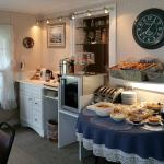 European-style Breakfast Buffet for Inn and Motel guests.