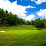 No. 2 Hole at Connestee Falls Golf Club