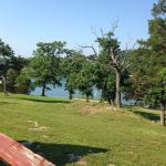 This is Cabin 110 and the view from the deck.