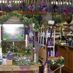 So many products - Sunshine Lavender Farm