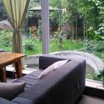 lovely lobby/garden
