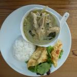 Chicken with Green Curry