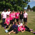 The Pink Power Puffs complete the Race for Life Windsor