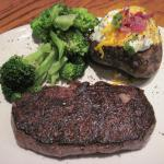 12oz New York Strip with 2 sides (08/June/15),