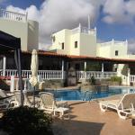A fantastic place be , beautiful apartments & villas , with lovely hosts  Ian & Brenda , Pat & R