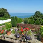 Pool & Sea View from Luccombe Hall Country House Hotel, Shanklin