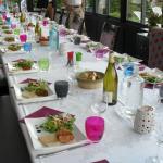 table du dîner