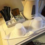 部屋では紅茶なども用意されています