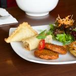 Fusion Platter at Thainamic Restaurant Leichhardt