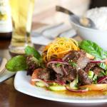 Thai Beef Salad at Thainamic Restaurant Leichhardt