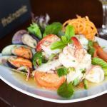 Seafood Salad at Thainamic Restaurant Leichhardt