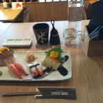 eating in, on japanese ceramics