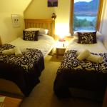 Twin bed room, beautiful view Loch Mohr