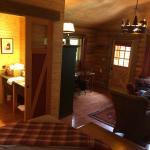 Cabin #27 (Bathroom door on sliders - one side kept coming off the rails)